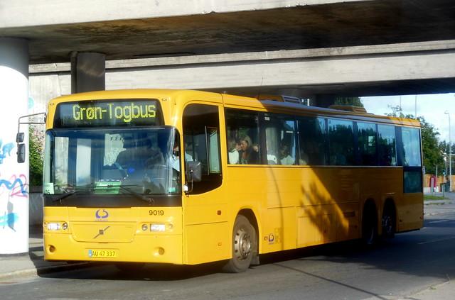 Volvo B12M Lokalbus 9019 rail replacement