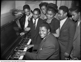 Oscar Peterson at Boys Club, 556 Bathurst Street