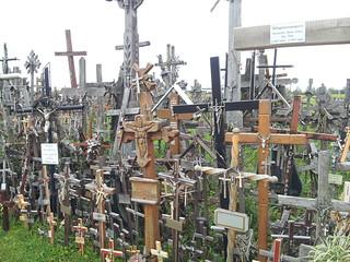 Hills of Crosses near Siauliai (Lithuania)