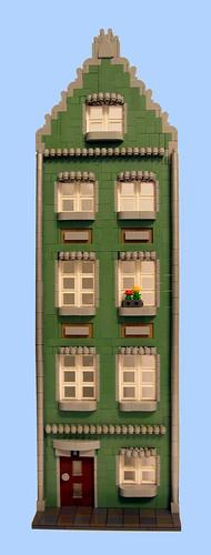 Green town house | by Lego_fan