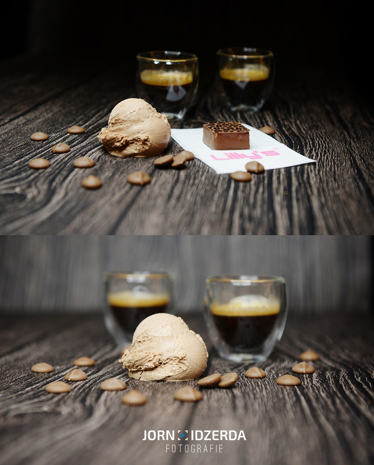 Productfoto's Lilly's ijs en chocola