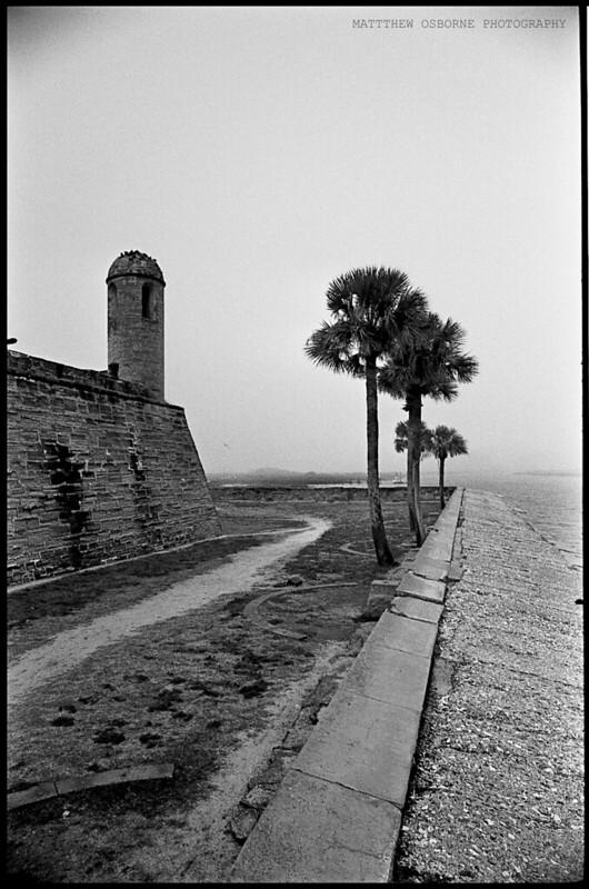 Saint Augustine Fort - Tri-X