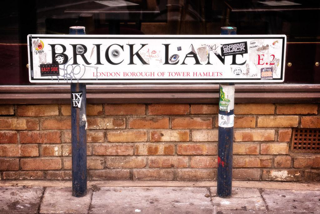 Brick Lane Road Sign