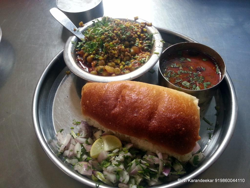 Misal Pav at Shri Bhairavnath Hotel Wagholi - Kolte-Patil