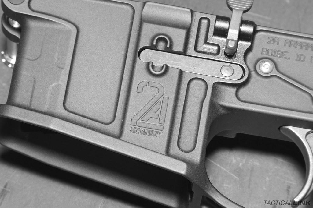 2A Armament Balios-Lite Billet Lightweight AR15 Lower Rece