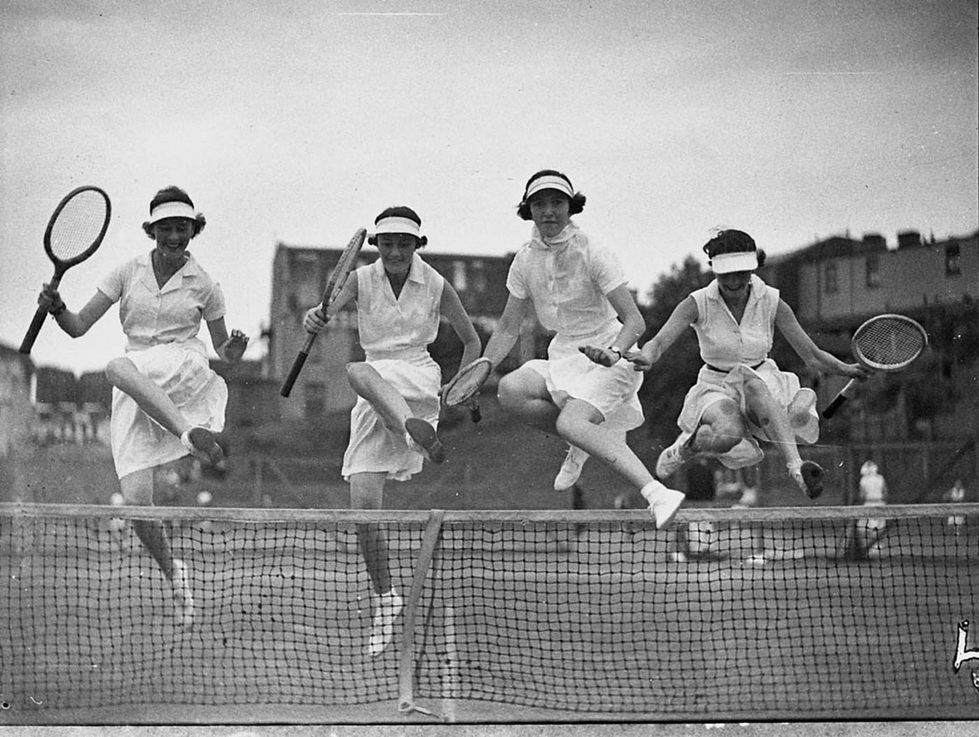 Country Week tennis, 5/1/1937, photograph by Sam Hood