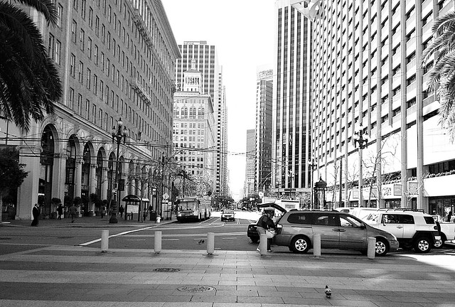 Prospettiva urbana a San Francisco