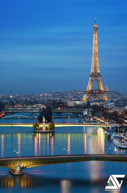 Paris @ Blue Hour