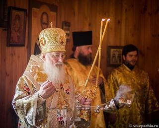 Божественная литургия в пос.Котово 140