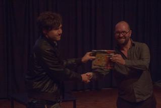 "Christos Michalakos wins ""chair's favourite"" performance prize @ NIME 2016   by johnrobertferguson"