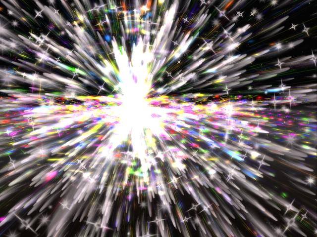 Particle Show -  Big Bang Captured