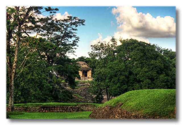Palenque MEX - The north group 04