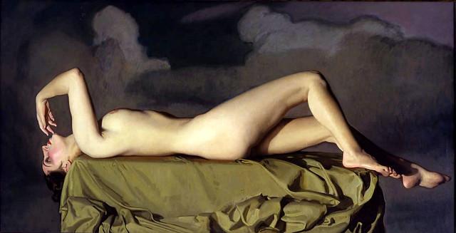 José María Rodríguez-Acosta (Granada, 1878-1941) Desnudo tendido (c. 1939)