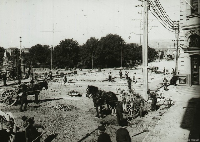 Lower Rattray Street - Excavation and Concrete