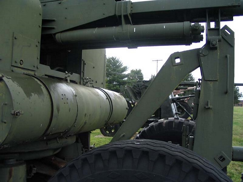 US 90mm M2 Anti-Aircraft Gun 8