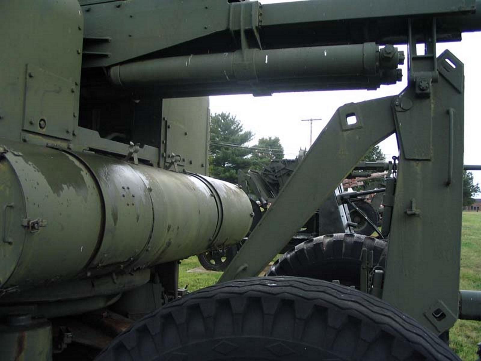 US 90mm M2 Anti-Aircraft Gun 8