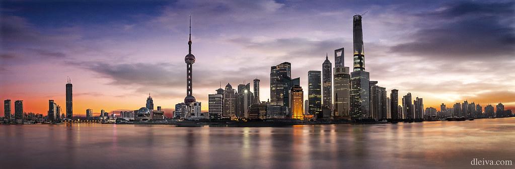 Shanghai skyline (Pudong)