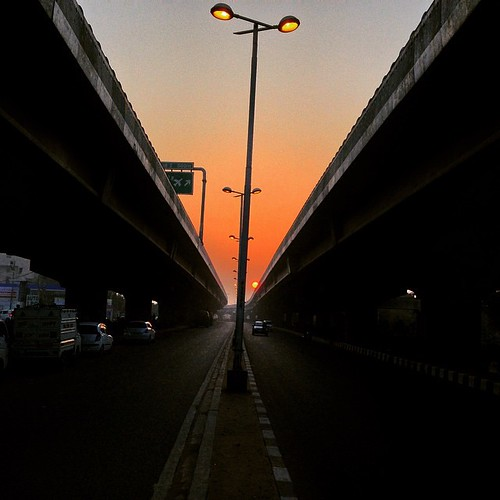 sunset square squareformat ludwig flyover iphoneography instagramapp uploaded:by=instagram