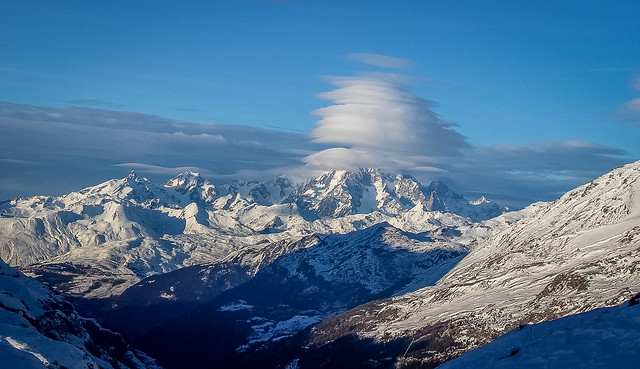 Head in the Clouds - Mont Blanc