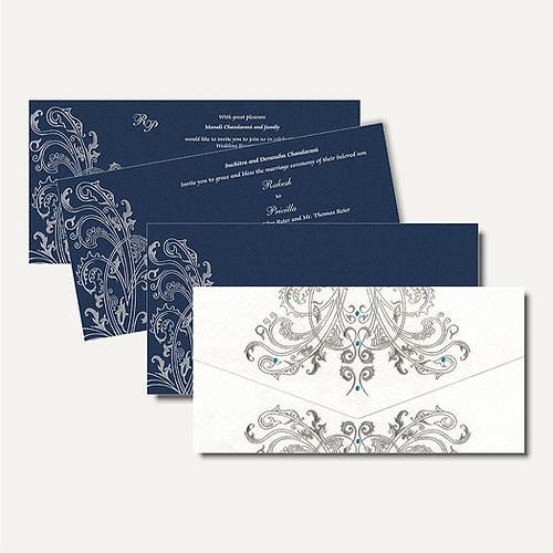 Interfaith Wedding Cards MF2164   by nparekhcards