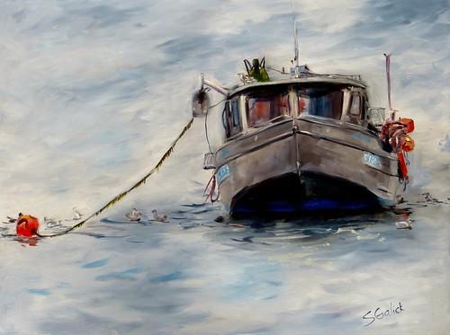 Beach Box Crab Boat