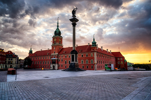 warsaw poland polska castle history travel lapinski architecture