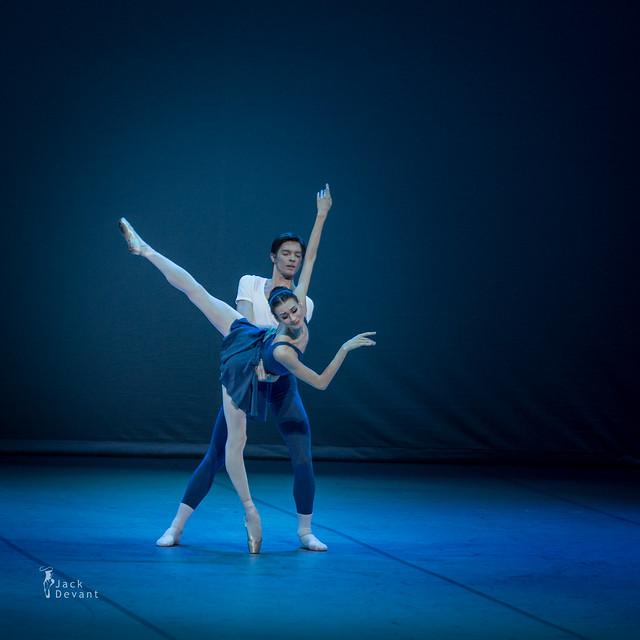 Anastasia Soboleva and Victor Lebedev in Class Concert