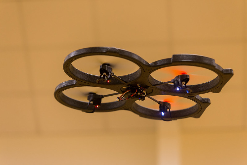 Peter's new quadcopter.