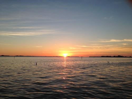 river sunset capecoral caloosahtchee sky weather erkohl er kohl