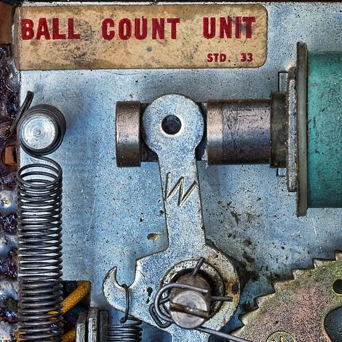 Pinball machine interior | by dbostrom