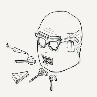 Shovel it in Greg! #sketch #drawing #masterchef | by Tom Cardo-Moreno