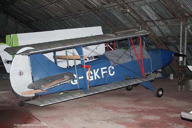 G-GKFC - 1999 build TCD Sherwood Ranger RL5A, new Barton resident