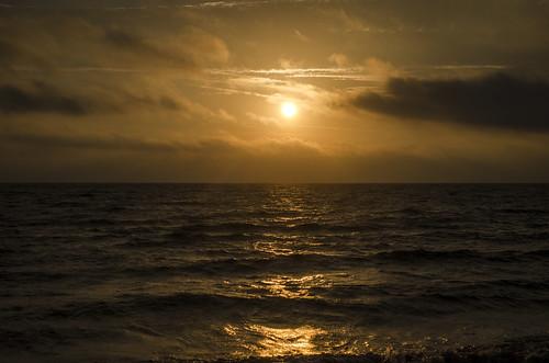 sky sunset alligatorpoint florida ocean