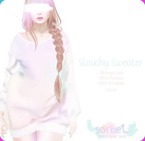 Sorbet. Slouchy Sweater