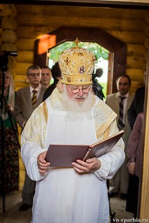 Освящение храма в Кремле 73