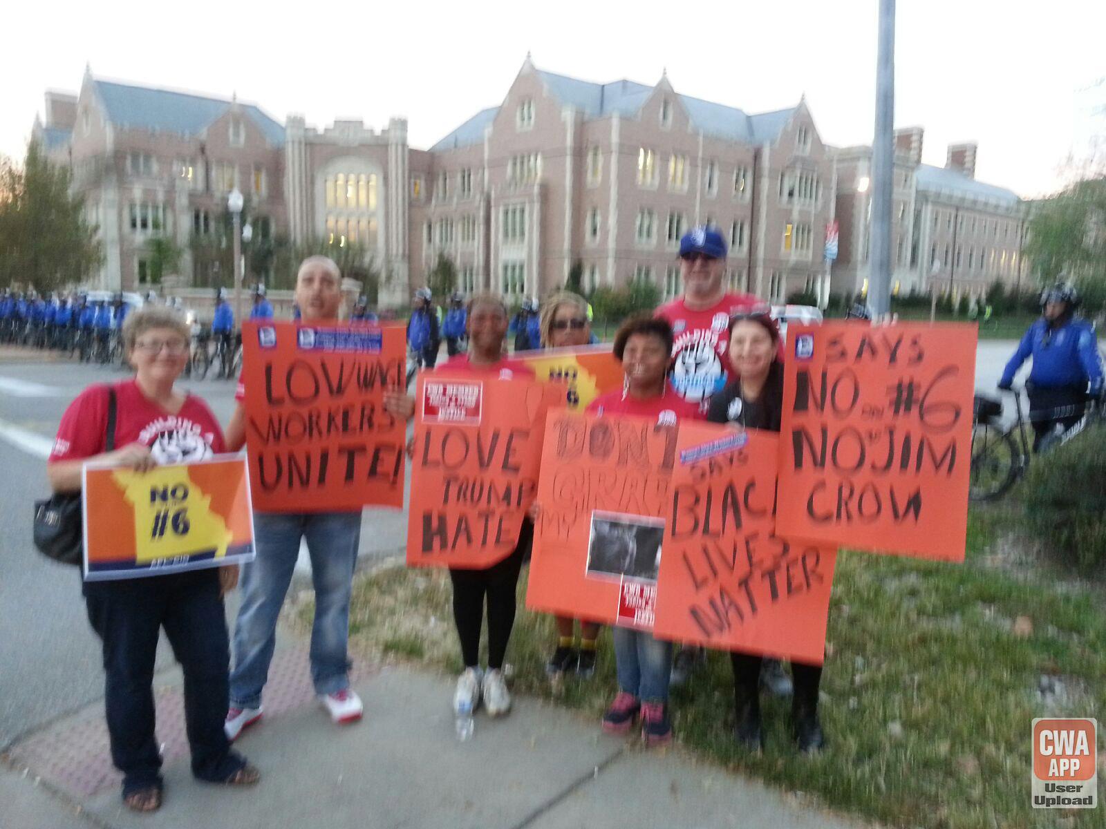 CWA Missouri Rally