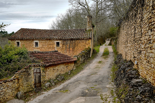 Bonaguil - ruelle