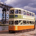 Glasgow Tram 1297 at GGF west term. Sep'88 by David Christie 14