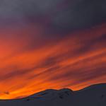 Mountain at Sundown from Arapahoe Basin