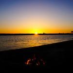 Fiesta Island Fiery Sunset