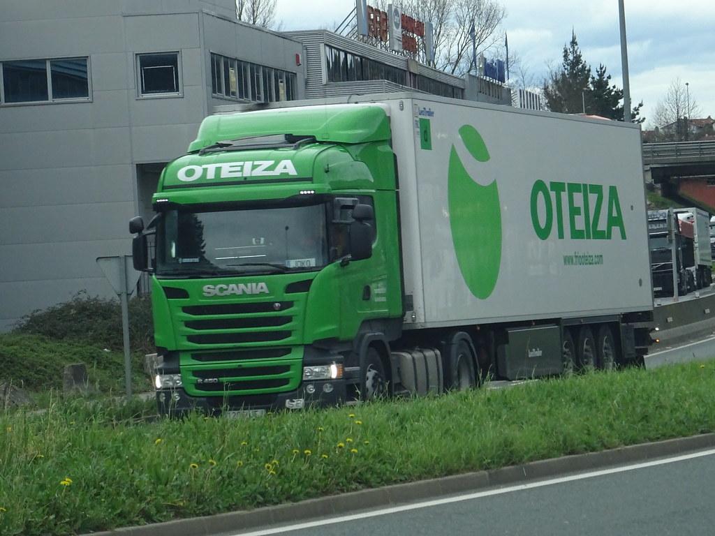 TRANSPORTES OTEIZA(E) Scania R 450 N 121 A Béhobia(E) 10.0… | Flickr