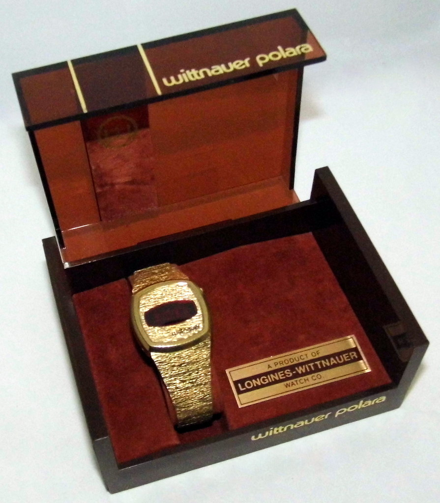 Wittnauer Watch Value >> Vintage Wittnauer Polara 300 Digital Quartz Watch A Produ