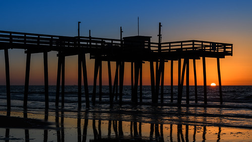 margatesunrise margatecity margate beach sunrise dawn jerseyshore newjersey fishingpier
