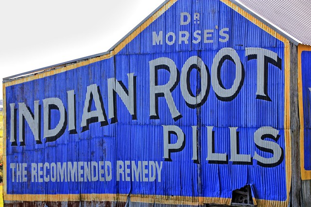 Dr Morse's Indian Root Pills.