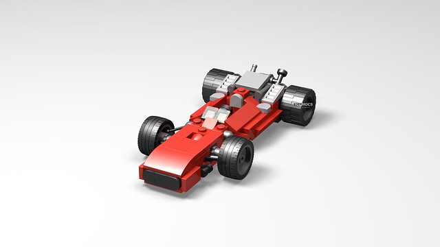 Commissioned Project - Mario Andretti's 1969 Indy 500 Car