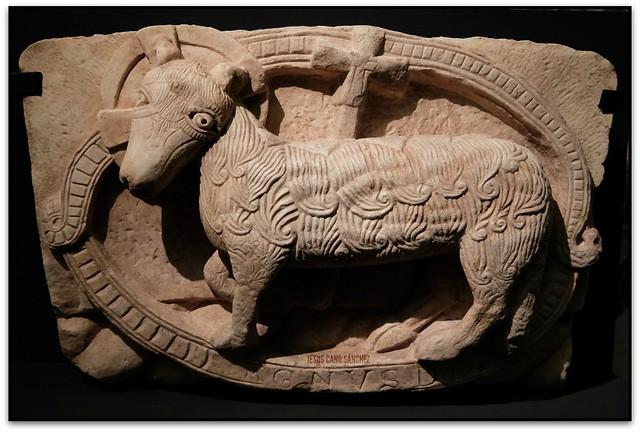 Agnus Dei (Sant Pere de Rodes), Museu d'Història de Catalunya (Templers. Guerra i religió a l'Europa de les Croades) (Barcelona, el Barcelonès)