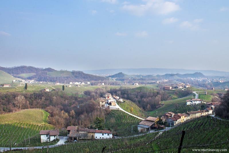 Vista da Santo Stefano, Colline del Prosecco