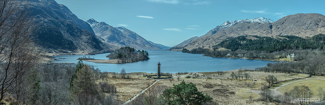 Glenfinnan and Loch Shiel, an iconic view.