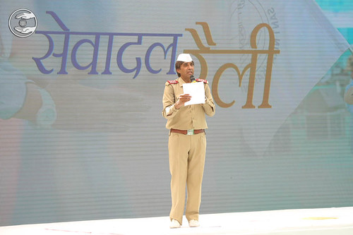 Stage Secretary, Mohan Kumar from Kanpur