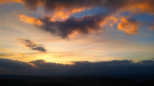 tramonto nuoro